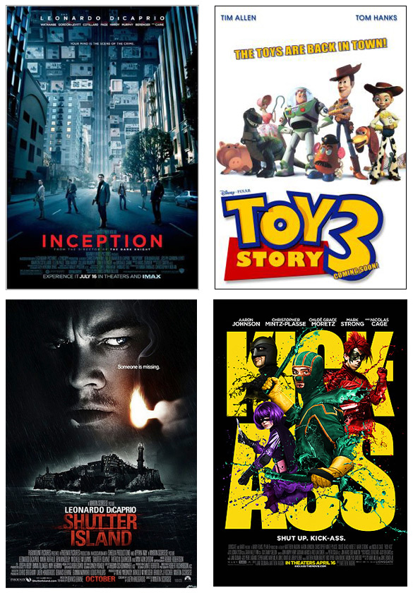 Mejores películas del 2010