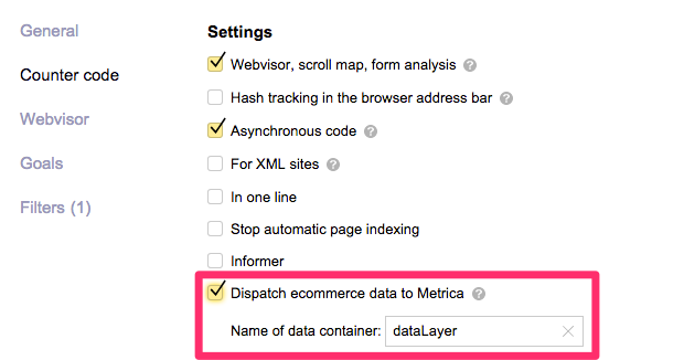 metrika-ecommerce-datalayer